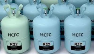 گازهای سردکننده: هیدروکلرو فلوروکربن (HCFC)