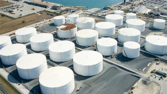 مخازن ذخیره فرآورده های گازی در شرکت آران گاز